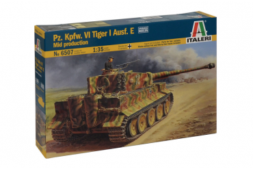 Pz.Kpfw.VI TIGER I Ausf.E mid production (1:35) - 6507