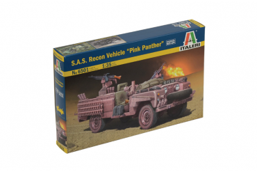 """S.A.S. RECON VEHICLE """"PINK PANTHER"""" (1:35) - 6501"""