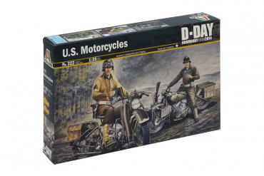 U.S. MOTORCYCLES WW2 (1:35) - 0322