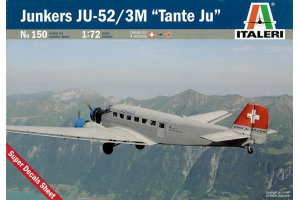 "JUNKERS JU-52 3/m ""TANTE JU"" (1:72) - 0150"