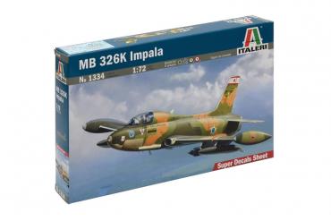 MB 326 K IMPALA (1:72) - 1334