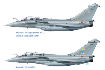 RAFALE M OPERATIONS EXTERIEURES 2011 (1:72) - 1319