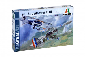S.E.5a and ALBATROS D.III (1:72) - 1374