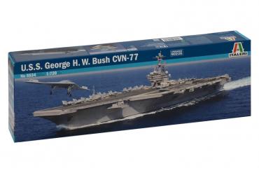 U.S.S. GEORGE H.W.BUSH CVN 77 (1:720) - 5534