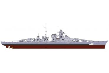 World of Warships - GERMAN BATTLESHIP BISMARCK (1:700) - 46501