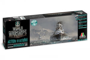 World of Warships - GERMAN BATTLESHIP BISMARCK (1:700) - 46501