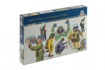 NATO PILOTS AND GROUND CREW (1:72) - 1246