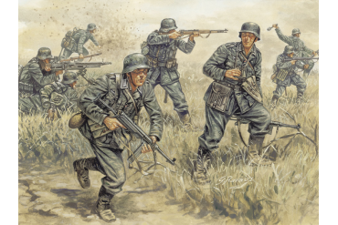 WWII - GERMAN INFANTRY (1:72) - 6033