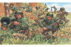 WWII - AMERICAN INFANTRY (1:72) - 6046