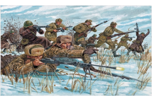 WWII -RUSSIAN INFANTRY (WINTER UNIF) (1:72) - 6069