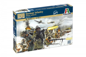 WWII - GERMAN INFANTRY (Winter Uniform) (1:72) - 6151