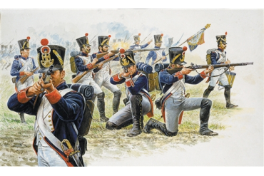 FRENCH LINE INFANTRY (NAP.WARS) (1:72) - 6002