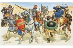 SARACENS WARRIOS (XIth CENTURY) (1:72) - 6010