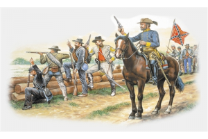 CONFEDERATE INFANTRY (AMERICAN CIVIL WAR) (1:72) - 6014