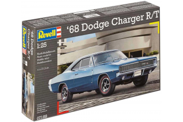 Plastic ModelKit auto 07188 - 1968 Dodge Charger R/T  (1:25)
