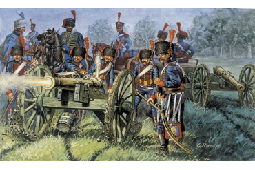 FRENCH ARTILLERY (NAP.WARS) (1:72) - 6018