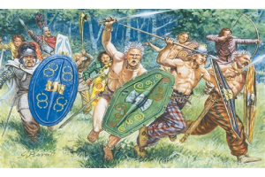 GAULS WARRIORS (I-II CENTURY B.C.) (1:72) - 6022