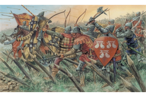 ENGLISH KNIGHTS AND ARCHERS (100 YEARS WAR) (1:72) - 6027