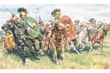 ROMAN CAVALRY (I-II CENTURY B.C.) (1:72) - 6028