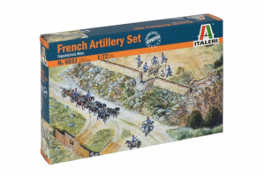 FRENCH ARTILLERY SET (NAP.WARS) (1:72) - 6031