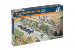 FRENCH ARTILLERY SET (NAP.WARS) (1:72) - 6031