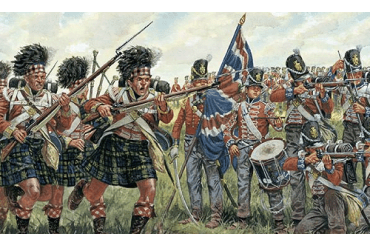 BRITISH and SCOTS INFANTRY (NAPOL.WARS) (1:72) - 6058