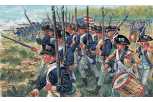 AMERICAN INFANTRY (AM.INDEP.WARS 1776 ) (1:72) - 6060