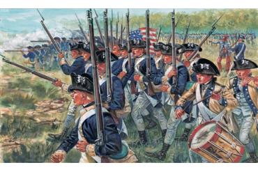 AMERICAN INFANTRY (AM.INDEP.WARS 1776 ) (1:72) - 6060