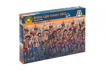 NAPOLEONIC WARS - BRITISH LIGHT CAVALRY 1815 (1:72) - 6094