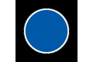 4307AP - Flat Medium Blue 20ml - akryl