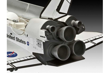 Plastic ModelKit vesmír 04544 - Space Shuttle Atlantis (1:144)