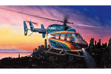 """ModelSet vrtulník 64833 - Eurocopter BK 117 """"Space Design"""" (1:72)"""
