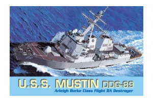 U.S.S. MUSTIN DDG-89 (1:700) - 7044