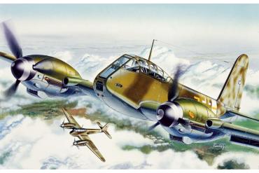 """Model Kit letadlo 0074 - ME 410 """"HORNISSE"""" (1:72)"""