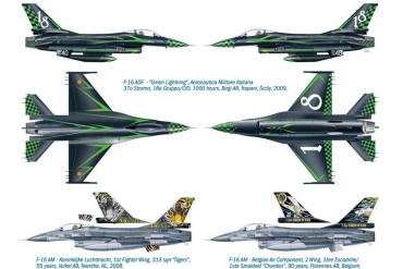 "Model Kit letadlo 1337 - F-16 ADF/AM ""Special colors"" (1:72)"