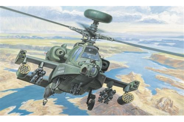 Model Kit vrtulník 0080 - AH-64 D APACHE LONGBOW (1:72)
