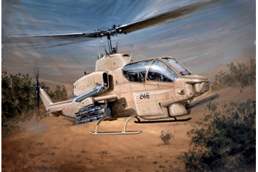 Model Kit vrtulník 0833 - AH-1W SUPERCOBRA (1:48)