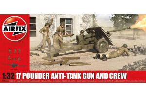 17 Pdr Anti-Tank Gun  (1:32) - reedice - A06361