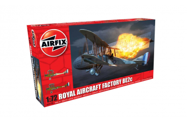 Royal Aircraft Facility BE2C (1:72) - A02101