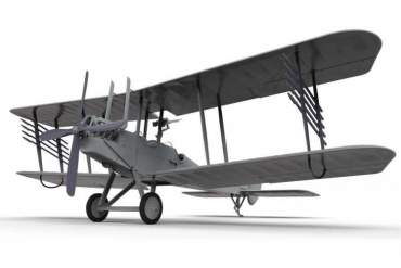 Clasic Kit letadlo A02101 - Royal Aircraft Facility BE2C (1:72)