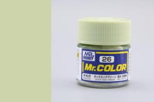 Mr. Color - C026: Barva kachních vajec zelená pololesklá