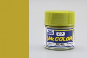 Mr. Color - C027: Interiérová zelená pololesklá