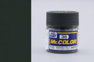 Mr. Color - C036: RLM74 šedo zelená (Gray Green)