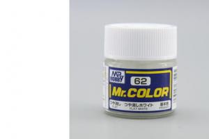 Mr. Color - C062: bílá matná (Flat White)