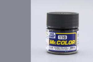 Mr. Color - C116: RLM66 černo šedá (Black Gray)