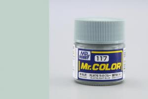Mr. Color - C117: RLM76 světle modrá (Light Blue)