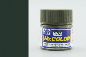 Mr. Color - C123: RLM83 Tmavě zelená pololesklá