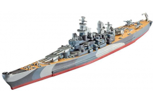 Battleship U.S.S. Missouri (WWII)  (1:1200) - 05128