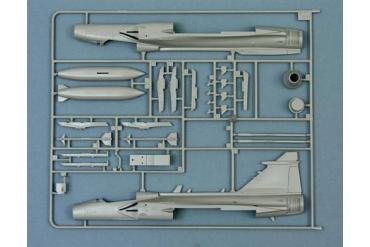 Model Kit letadlo 2638 - JAS 39 A GRIPEN (1:48)