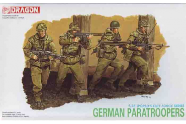 GERMAN PARATROOPERS (1:35) - 3021